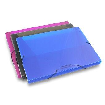 Obrázek produktu Box na dokumenty FolderMate PopGear - modrý