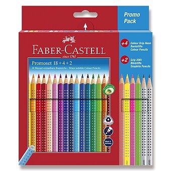 Obrázek produktu Pastelky Faber-Castell Grip 2001 - 22 barev + 2 grafitové tužky