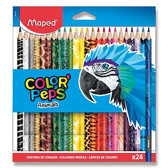 Obrázek produktu Pastelky Maped Color'Peps Animals - 24 barev