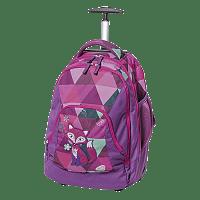 Školní batoh s kolečky Schneiders Frieda the Fox