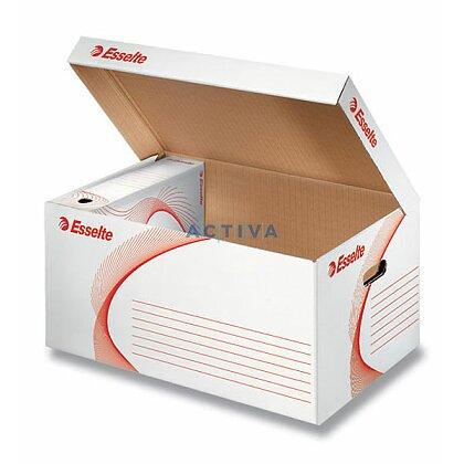Obrázek produktu Esselte - archivační kontejner - bílý