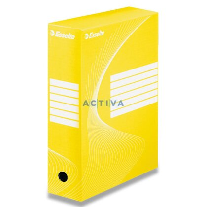 Obrázok produktu Esselte - archivačná krabica - chrbát 100 mm, žltá