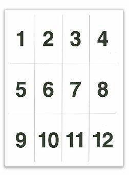 Obrázek produktu Sada číslic pro 1. třídu
