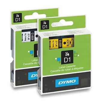 Obrázek produktu Samolepicí polyesterové pásky Dymo pro štítkovače - 9 mm x 7 m