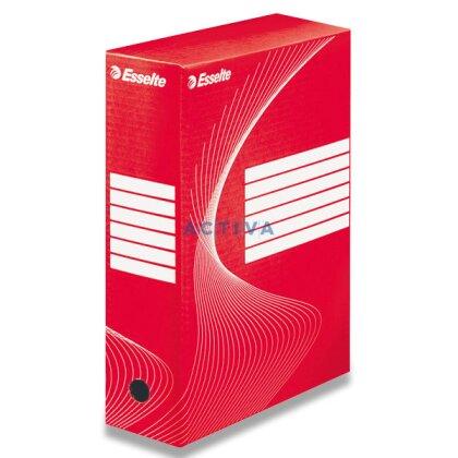 Obrázek produktu Esselte 100 - archivační krabice - 100 mm, červená