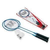 RELAX - sada na badminton, 2x hliníková raketa, 2x plastový košíček