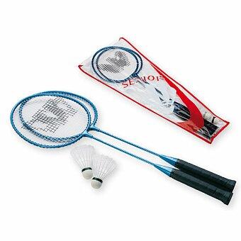 Obrázek produktu RELAX - sada na badminton, 2x hliníková raketa, 2x plastový košíček