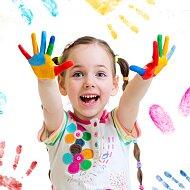 Tipy pro malování prstovými barvami