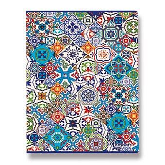 Obrázek produktu Školní sešit Ambar Lusa - A4, linkovaný, 80 listů
