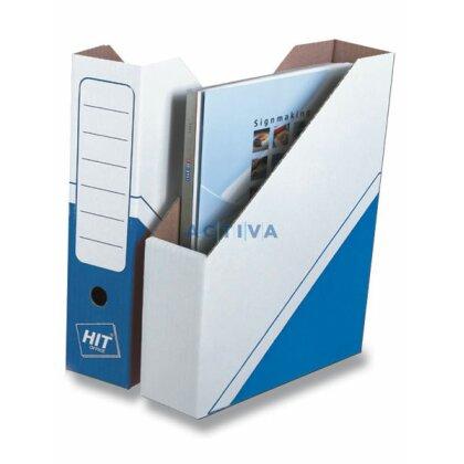 Obrázek produktu HIT Office - Magazin Box - 75 mm, modrý