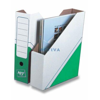 Obrázek produktu HIT Office - Magazin Box - 75 mm, zelený