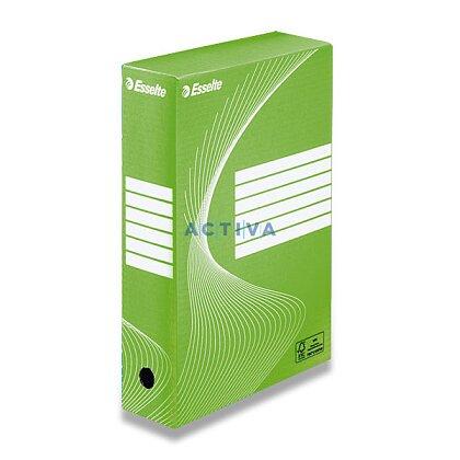 Obrázek produktu Esselte 80 - archivační krabice - 80 mm, zelená