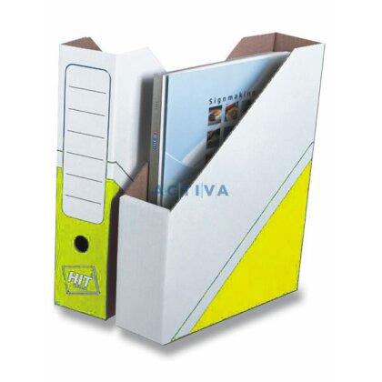 Obrázek produktu HIT Office - Magazin Box - 75 mm, žlutý