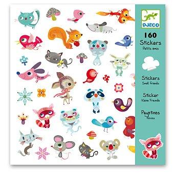 Obrázek produktu Samolepky Djeco - Malí kamarádi