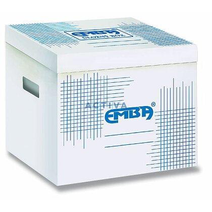 Obrázek produktu EMBA - úložný box - bílý
