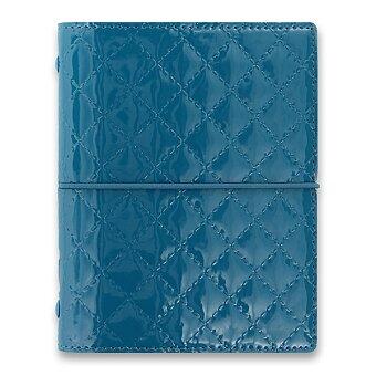 Obrázek produktu Kapesní diář Filofax Domino Luxe A7 - teal