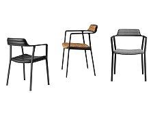 Židle s područkami Vipp451