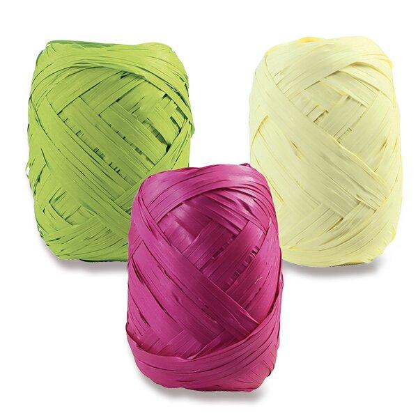 Dárkový provázek Clairefontaine Raffia pastelový, mix barev