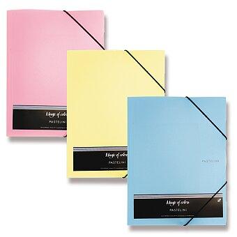 Obrázek produktu 3chlopňové desky Pastelini - A4, výběr barev
