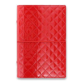 Obrázek produktu Osobní diář Filofax Domino Luxe A6 - červený