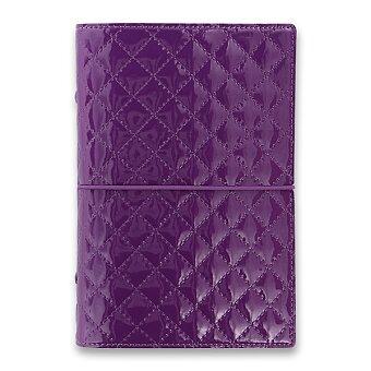 Obrázek produktu Osobní diář Filofax Domino Luxe A6 - fialový