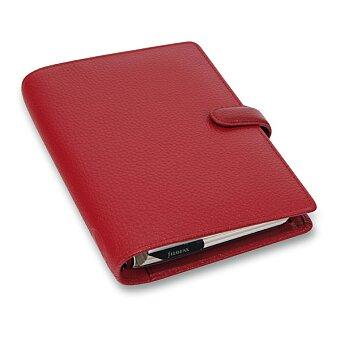 Obrázek produktu Kapesní diář Filofax Finsbury A7 - červený