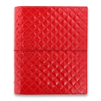 Obrázek produktu Diář A5 Filofax Domino Luxe - červený