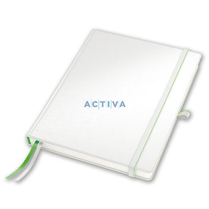 Product image Leitz Complete - notebook - white, A4
