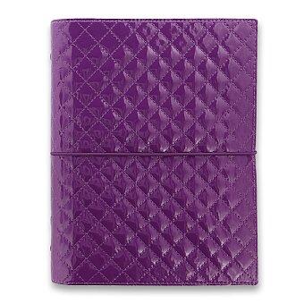 Obrázek produktu Diář A5 Filofax Domino Luxe - fialový