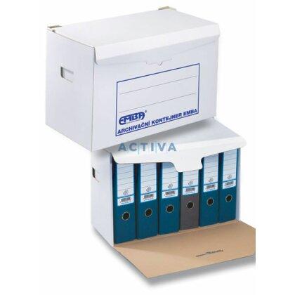 Obrázok produktu Emba - archivačný kontajner - 530 x 310 x 335 mm