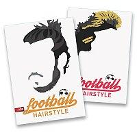 Školní sešit Football Hairstyles