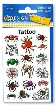Obrázek produktu Tetování Avery - Pavouci