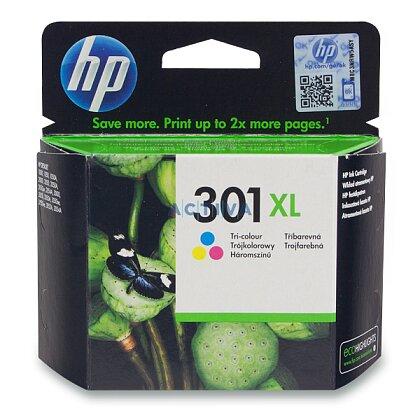 Obrázek produktu HP - cartridge CH564EE, color č. 301 XL (barevná) pro inkoustové tiskárny