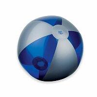 BEACH - plastový nafukovací míč, 6 panelů, výběr barev
