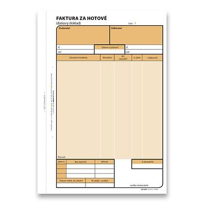 Obrázek produktu Optys - faktura za hotové