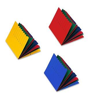 Obrázek produktu Třídící desky Pagna s gumičkou - A4, 7 oddílů, výběr barev