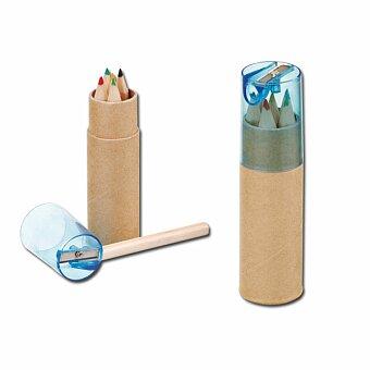 Obrázek produktu DEGAS - sada dřevěných pastelek, 6 ks, modrá