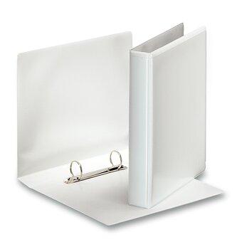 Obrázek produktu 2-kroužkový pořadač Esselte - plast, A5, 35 mm, bílý