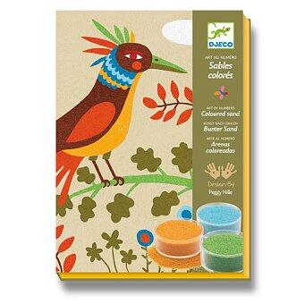 Obrázek produktu Malování barevným pískem Djeco - Ptáci ráje