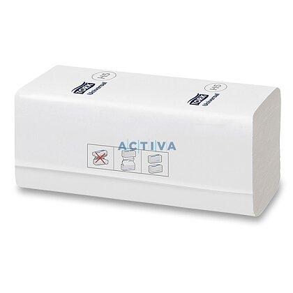 Obrázek produktu Tork PeakServe - papírové ručníky - 1vrstvé, bílé