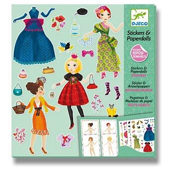 Obrázek produktu Samolepkový set Djeco - Módní návrhář