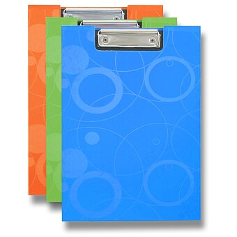 Obrázek produktu Psací desky s klipem PP karton Neo Colori - A4, lamino, výběr barev