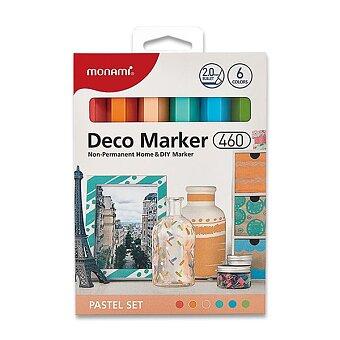 Popisovače Monami Deco Marker 460