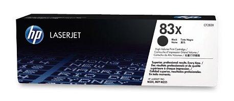 Obrázek produktu Toner HP CF283X č. 83X pro laserové tiskárny - black (černá)