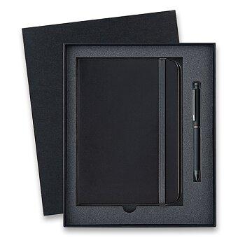 Obrázek produktu Lamy Tri Pen ST Matt Black - multifunkční tužka, dárková sada se zápisníkem