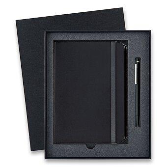 Obrázek produktu Lamy Cp 1 Matt Black - kuličková tužka, dárková sada se zápisníkem