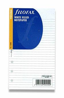 Obrázek produktu Poznámkový papír, linkovaný - náplň k osobním diářům Filofax A6