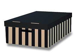 2 úložné krabice HIT Office s nosností 10 kg