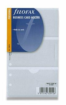 Obrázek produktu Pouzdro na vizitky - náplně osobních diářů Filofax