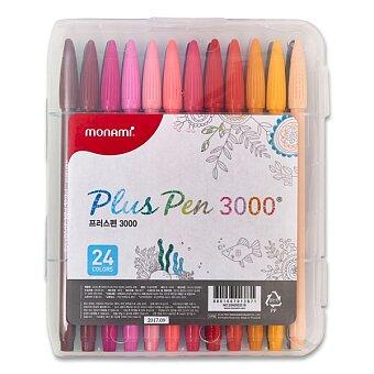 Obrázek produktu Popisovače Monami Plus Pen 3000 - 24 barev